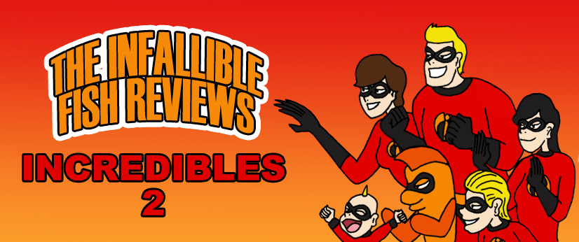 Blog Incredibles 2 Review Title